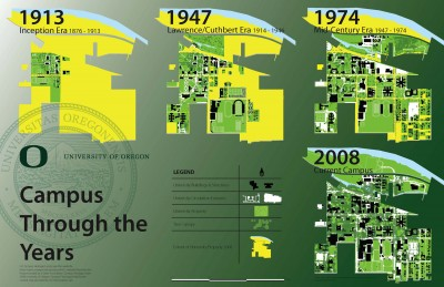Campus Through the Years Poster