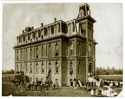University Hall Historic Photo