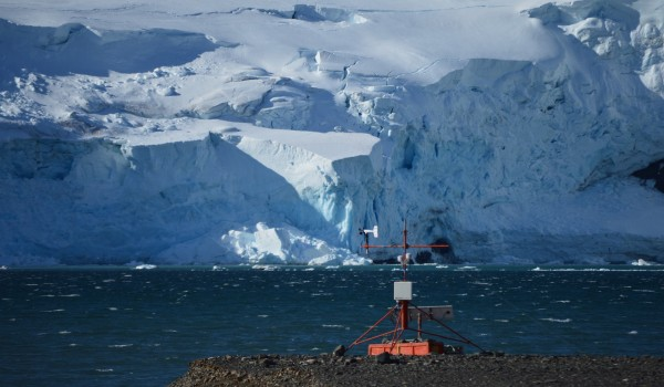 Landscape Weather Station Antarctica Research
