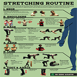 Front page of the stretching poster