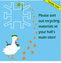 Hamilton Recycling Site Map