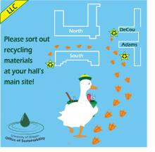 LLC Recycling Site Map